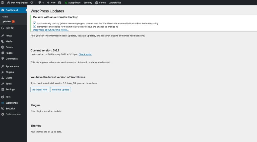 WordPress Security Audit
